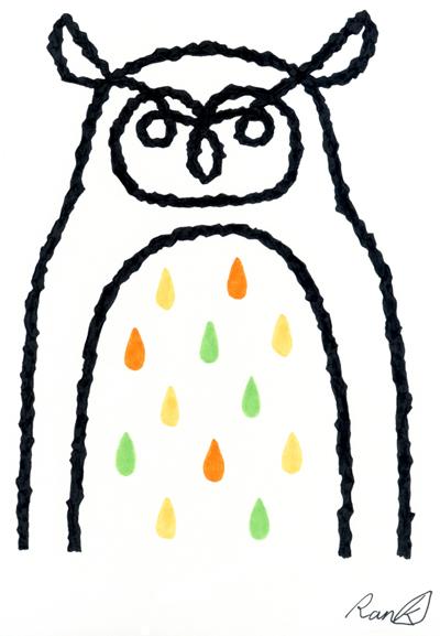 フクロウ001